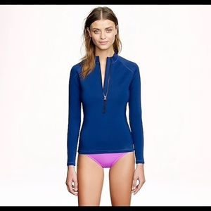 J. Crew Long Sleeve Neoprene Rash Guard